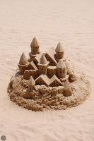 castle in the sand by susibphoto