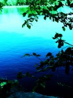 Blue layered water by vVvCrashinvVv