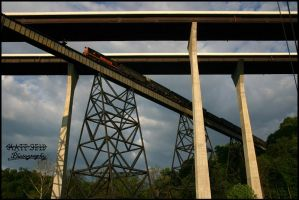 WandLE Mingo Trestle by DragonWolfACe