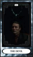 Hannibal Tarot: XV - The Devil by DarkFairyoftheWood