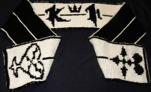Kingdom Hearts Scarf by AtmcNmbr80