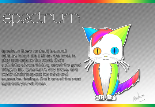 character PROFILE - s p e c t r u m by MelodyBunny1