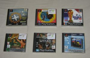 My Favorite Play Station Games by CheerBearsFan