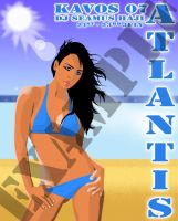 "Flyer For Atlantis ""Kavos"" by m-charalambous"