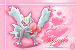 CE: Kyurem Love Wallpaper by shadowhatesomochao