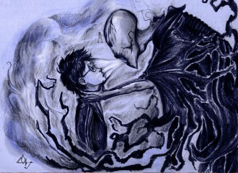 The Dementor Kiss by Ottowl