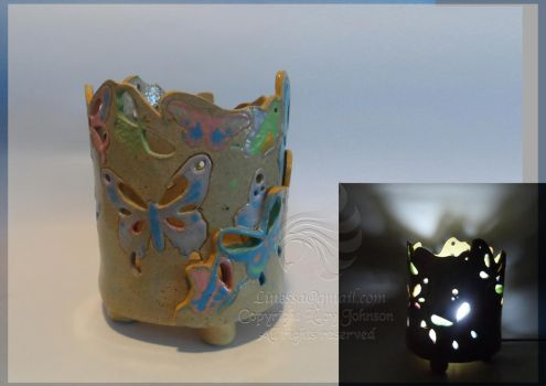 Butterfly lamp by LRJProductions