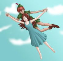 Peter Pan y Wendy by Ragamuffyn