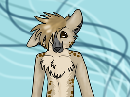 Hyena Character For SALE! (20 Points) by Kyarii-chan