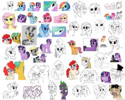 DOODLE DUMP by Mixermike622