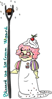 Blizzard the ice cream wizard by Dancing-Koi