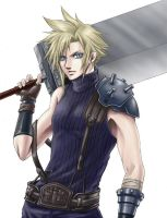 Cloud Strife by sandersonia