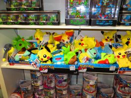 New Pokemon Plushies! by ryanthescooterguy