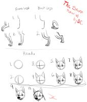 My drawings - TUTORIAL by DarkChocaholic