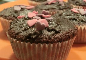 Chocolate Oreo Muffins by IanabelleIsaK