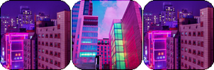 neon city -decor- by KIngBases