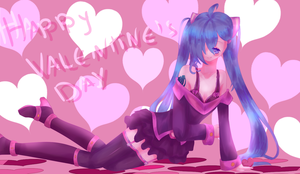: Be my Valentine,please? : by dragonmary99