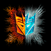 decepticons fire and ice logo by Phendranaguardian