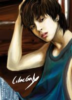 Realistic Jonghyun in PB-Night by LilacGalx