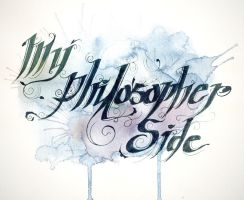 My Philosopher Side by sahdesign