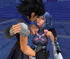 Zack and Aqua by ShadowRoseVIII