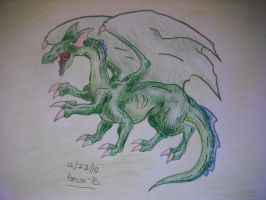 8 Limbed  Dragon by TheGreenDragonGirl