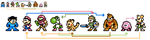 Super Smash Bros. Characters: Nintendo X Megaman? by TacoParty125