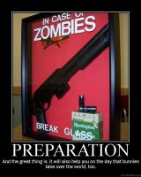 Demotivator: Preparation by Freyad-Dryden