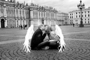 Angel Kisses. by ch-redblooded