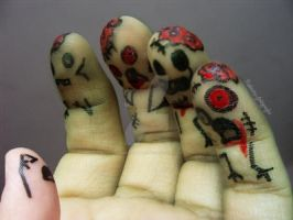 zombie fingers by gaabriellablee