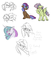 Iremiaverse sketches by Silvy-Fret