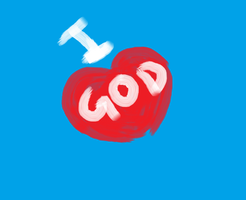 I love God by petermarge