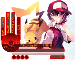 Pokemon Rainmeter 1.5 by SlasherZX360