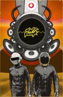 Daft Punk by Hartter