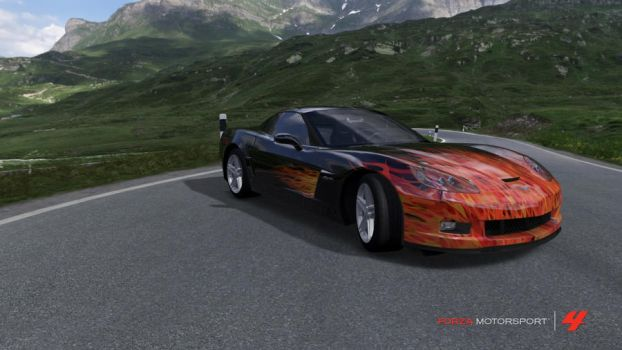Searing Vette by Sparkster11