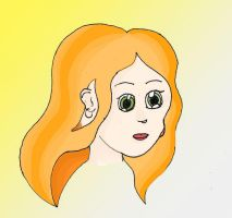 Orange hair by Recreating-life