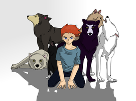 Run with the wolves redo by Bittersweet-Kat