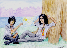 James and Sirius w-c by Devil-Wolf-1999
