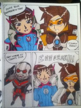 Tracer introduces Antman by Niininaac36