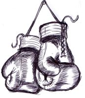 My boxing gloves rough design by Shadow3217