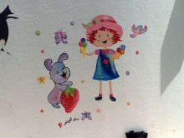 strawberry shortcake by ramla-aljadar