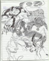 ben 10 aliens by Jhennica0987654321