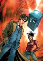 Doctor Who issue 1 cover by dcjosh