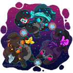Cosmic Space Dust DTA entry 2 by SirKittenpaws