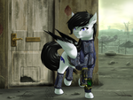 Commission: Ready for the Wastes by MykeGreywolf