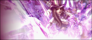 Caitlyn sig-League of legends by Bphone