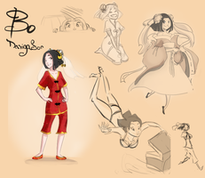 Character Design-Bo by Mumy-chan