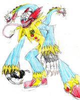 13 Frights- Chuckles the Klown by MegamanNeos