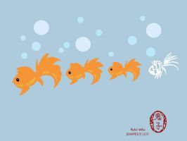 Goldfish and Friend image by Oniko-art