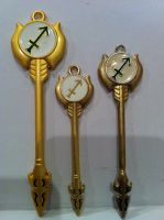 Gate of the Archer Keys from Fairy Tail by Umnei